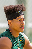 Green Bay Packers wide receiver Trevor Davis (11) during a training camp practice on August 15, 2017 at Ray Nitschke Field in Green Bay, Wisconsin.   (Brad Krause/Krause Sports Photography)
