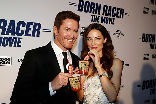 Scott Dixon and wife Emma