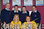 TOURISM: Student from Causeway Compresenhive School getting some information on Tourism from student at the ITT on their Open Day on Monday.Lisa Murphy and Brenda Mulvihill (ITT). Back l-r: Patrick Pierse, John Paul O'Mahony, JJ O'Connell and Jer Lyons( Causeway Com)....   Copyright Kerry's Eye 2008
