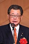 Toshiei Mizuochi, MARCH 19, 2018 : Pyeongchang 2018 Winter Paralympics Japan Delegation disbandment ceremony in Tokyo, Japan. (Photo by Naoki Nishimura/AFLO SPORT)