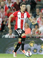 Athletic de Bilbao's Aritz Aduriz during Supercup of Spain 1st match.August 14,2015. (ALTERPHOTOS/Acero)
