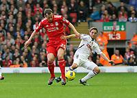 2011 11 05 Premiere League, Liverpool FC V Swansea City, Anfield, UK.