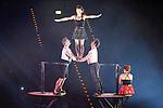"""LIFT Doppelter Fangstuhl bei der Turn Gala """"Celebration"""" in der SAP Arena Mannheim.<br /> <br /> Foto © Ruffler *** Foto ist honorarpflichtig! *** Auf Anfrage in hoeherer Qualitaet/Aufloesung. Belegexemplar erbeten. Veroeffentlichung ausschliesslich fuer journalistisch-publizistische Zwecke. For editorial use only."""