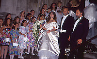 Mariah Carey & Tommy Mottola Wedding by <br />