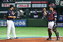 (L to R) .Masahiro Tanaka (JPN), .Shinnosuke Abe (JPN), .MARCH 6, 2013 - WBC : .2013 World Baseball Classic .1st Round Pool A .between Japan - Cuba .at Yafuoku Dome, Fukuoka, Japan. .(Photo by YUTAKA/AFLO SPORT)