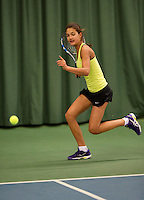March 13, 2015, Netherlands, Rotterdam, TC Victoria, NOJK, Merel Hoedt (NED)<br /> Photo: Tennisimages/Henk Koster