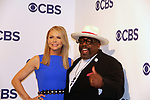 Faith Ford - Murphy Brown & Cedric the Entertainer - The Neighborhood - CBS Upfront 2018 on May 17, 2018 at the Plaza Hotel, New York City, New York with new Prime Time 2018-19 shows (Photo by Sue Coflin/Max Photo)