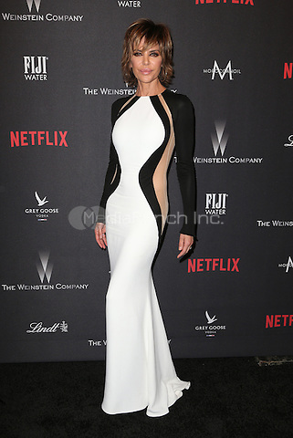 BEVERLY HILLS, CA - JANUARY 08: Lisa Rinna at The Weinstein Company and Netflix Golden Globe Party at The Beverly Hilton Hotel on January 8, 2017 in Beverly Hills, California. Credit: Faye Sadou/MediaPunch