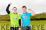 l-r  Cathal Keane and Darragh O'Keeffe from Listowel at the BANNA Beast Cross Fit Challenge on Saturday