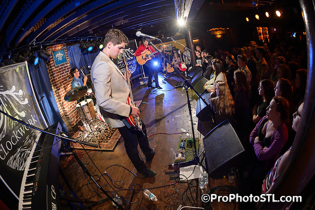 Clockwork in CD release concert at Duck Room of Blueberry Hill in St. Louis, MO on Feb 23, 2013.