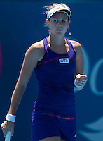 JANA CEPOLOVA..Tennis - Apia Sydney International -  Sydney 2013 -  Olympic Park - Sydney - NSW - Australia. Sunday 6th January  2013. .© AMN Images, 30, Cleveland Street, London, W1T 4JD.Tel - +44 20 7907 6387.mfrey@advantagemedianet.com.www.amnimages.photoshelter.com.www.advantagemedianet.com.www.tennishead.net