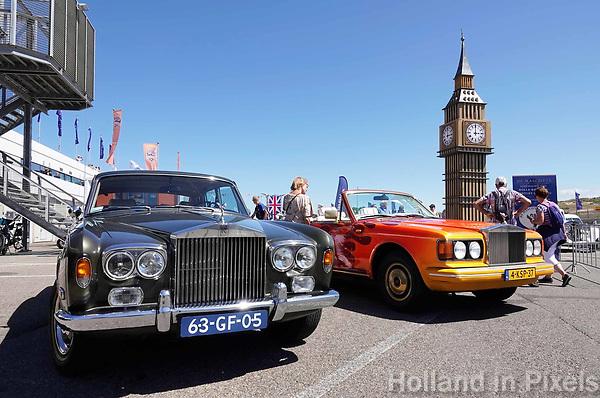 Nederland - Zandvoort - 8 juli 2018.    Het British Festival. Dit jaar staat het British Festival in het teken van de Grand Prix. Races op het Circuit van Zandvoort. Rolls Royce op de Paddock. Foto Berlinda van Dam Hollandse Hoogte