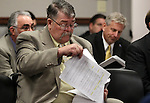 Nevada Assemblyman Pete Goicoechea, R-Eureka, waits in a committee hearing at the Legislature, in Carson City, Nev., on Wednesday, March 30, 2011.  .Photo by Cathleen Allison