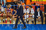 FC Barcelona Lassa's Georgios Bartzokas during the match of Endesa ACB League between Fuenlabrada Montakit and FC Barcelona Lassa at Fernando Martin Stadium in fuelnabrada,  Madrid, Spain. October 30, 2016. (ALTERPHOTOS/Rodrigo Jimenez)