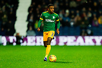 25th February 2020; The Hawthorns, West Bromwich, West Midlands, England; English Championship Football, West Bromwich Albion versus Preston North End; Darnell Fisher of Preston North End on the ball