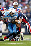 24 December 2006: Tennessee Titans running back Ahmard Hall (45) in action against the Buffalo Bills at Ralph Wilson Stadium in Orchard Park, New York. The Titans edged out the Bills 30-29.&amp;#xA; &amp;#xA;Mandatory Photo Credit: Ed Wolfstein Photo<br />