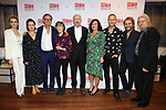 """Lisa O'Hare, Lucy Cohu, Jonathan Kent, Eileen Atkins, Jonathan Pryce, Amanda Drew, James Hillier, Florian Zeller and Christopher Hampton during the Broadway Opening Night After Party for the MTC  production of  """"The Height Of The Storm"""" at the Copacabana on September 24, 2019 in New York City."""