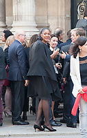 September 15 2017, PARIS FRANCE Delegation of Paris 2024 welcomed<br /> by the French President Emmanuel MACRON at the Elysee Palace.<br /> Marie Josee PEREC previous Athletics<br /> Champion was present