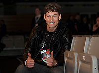 Joey Essex watches Boxing at Copper Box - 30/01/2016