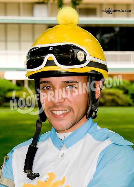 Jomar Ortega at Delaware Park racetrack on 6/16/14