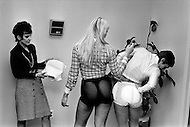 Circa Feb 1974 - For about a year in New York City, padding to enlarge the butt became popular among women who wanted to accentuate their figures.