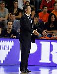 Baloncesto Fuelabrada's coach Porfi Fisac during Liga Endesa ACB match.October 30,2011. (ALTERPHOTOS/Acero)