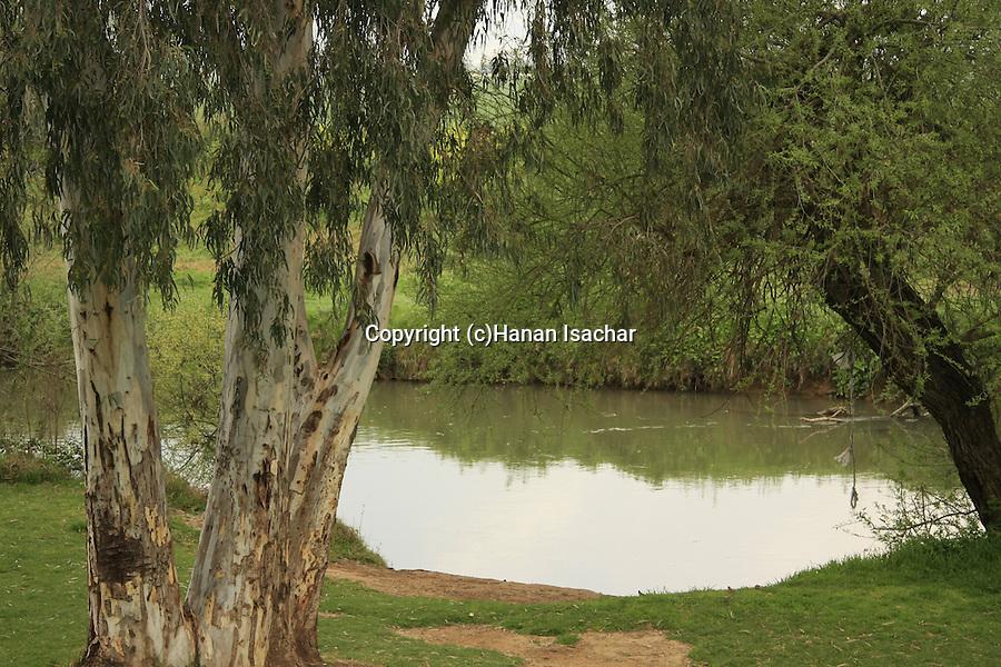 Israel, Upper Galilee. The Jordan River