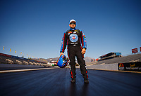 Feb 7, 2018; Pomona, CA, USA; NHRA funny car driver Robert Hight poses for a portrait during media day at Auto Club Raceway at Pomona. Mandatory Credit: Mark J. Rebilas-USA TODAY Sports