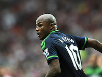 Andre Ayew of Swansea City during the Barclays Premier League match between Sunderland and Swansea City played at Stadium of Light, Sunderland