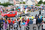 Enjoying the Castlegregory summer festival parade