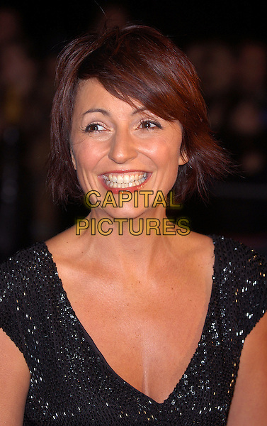 DAVINA MCCALL .arrives at Albert Hall for the National Television Awards 2002.Ref: PL.www.capitalpictures.com.sales@capitalpictures.com.©Capital Pictures