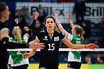 03.12.2017, Halle Berg Fidel, Muenster<br />Volleyball, Bundesliga Frauen, Normalrunde, USC MŸnster / Muenster vs. Rote Raben Vilsbiburg<br /><br />Jennifer Pettke (#15 Vilsbiburg)<br /><br />  Foto &copy; nordphoto / Kurth