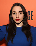 """Lauren Patten attends the After Party for the Second Stage Production of """"Days Of Rage"""" at Churrascaria Platforma on October 30, 2018 in New York City."""