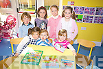 Toddlers at the open day of the New Play School in Causeay on Sunday were Ellen O'Donoghue, Maurice O' Donoghue, Donna Kiely, Cian Diggin, Ciara casey, Ivanna Nealson and Valerie Kiely..   Copyright Kerry's Eye 2008