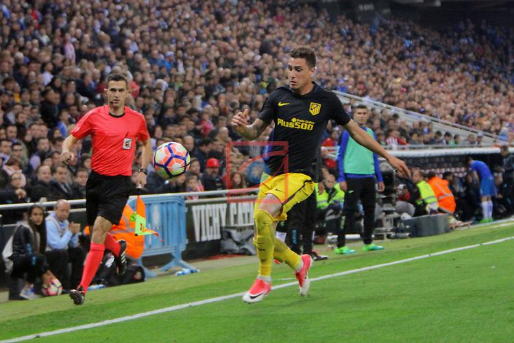 League Santander 2016/2017. Game: 33.<br /> RCD Espanyol vs Atletico de Madrid: 0-1.<br /> J.M. Gimenez.