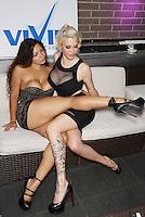 Niah, Bella French at Vivid Cabaret, 61 W 37St, NYC, NY, Thursday July 17, 2014.