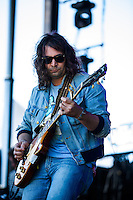 The War on Drugs performing at Harvest Festival, Werribee Park, Melbourne, 11 November 2012