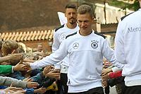 Joshua Kimmich (Deutschland, Germany), Sandro Wagner (Deutschland Germany) - 07.06.2017: Deutsche Nationalmannschaft besucht St. Petri Schule in Kopenhagen