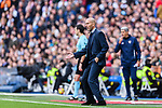 Zinedine Zidane Head Coach of Real Madrid gestures during the La Liga 2017-18 match between Real Madrid and Sevilla FC at Santiago Bernabeu Stadium on 09 December 2017 in Madrid, Spain. Photo by Diego Souto / Power Sport Images