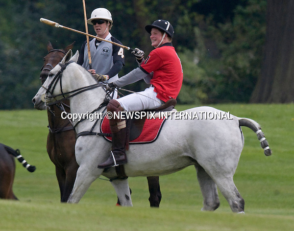 """PRINCES WILLIAM AND HARRY_.play for Umbogo on the second day of the Audi polo event at Cowarth Park, Windsor_09/05/2010.Mandatory Credit Photo: ©NEWSPIX INTERNATIONAL..**ALL FEES PAYABLE TO: """"NEWSPIX INTERNATIONAL""""**..IMMEDIATE CONFIRMATION OF USAGE REQUIRED:.Newspix International, 31 Chinnery Hill, Bishop's Stortford, ENGLAND CM23 3PS.Tel:+441279 324672  ; Fax: +441279656877.Mobile:  07775681153.e-mail: info@newspixinternational.co.uk"""