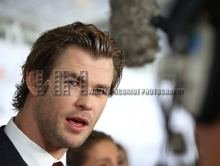 "Chris Hemsworth during the 2013 Tiff Film Festival Gala Red Carpet Premiere for ""Rush""  at the Roy Thomson Theatre  on September 8, 2013 in Toronto, Canada."