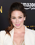 HOLLYWOOD, CA - JULY 27:  Actress Lynn Collins arrives at the Premiere Of Amazon Studios' 'The Last Tycoon' at the Harmony Gold Preview House and Theater on July 27, 2017 in Hollywood, California.