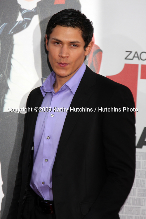 Alex Meraz arriving at the 17 Again Premiere at Grauman's Chinese Theater in Los Angeles, CA on April 14, 2009.©2009 Kathy Hutchins / Hutchins Photo....                .