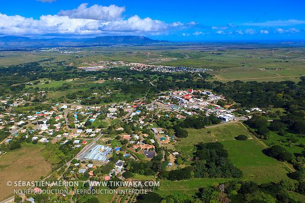 Photo aérienne de Koné, Nouvelle-Calédonie
