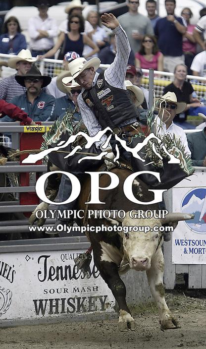 29 August 2008 PRCA Rodeo Bull Rider Matt Austin Ranked 7th In The World