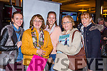 Siobhain Colborne, Tina Fitzgerald, Ashley Casey, Jean Casey and Katie O'Connell Cromane  at the Kerry Wedding show in the INEC  on Sunday