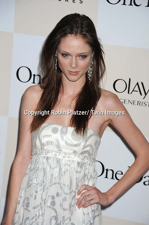 "model Coco Rocha attending the New York Premiere of ""One Day"" starring ..Anne Hathaway, Jim Sturgess and Patricia Clarkson on ..August 8, 2011 at The AMC Loews Lincoln Square 13 Theatre in New York City."