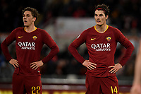 Nicolo Zaniolo and Patrik Schick of AS Roma <br /> Roma 11-3-2019 Stadio Olimpico Football Serie A 2018/2019 AS Roma - Empoli<br /> Foto Andrea Staccioli / Insidefoto