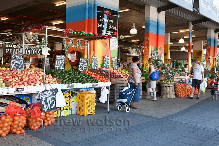 Fruit and vegetable stalls at Rusty's Markets.  Cairns, Queensland, Australia