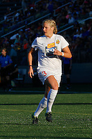 Rochester, NY - Friday June 17, 2016: Western New York Flash midfielder Makenzy Doniak (3) during a regular season National Women's Soccer League (NWSL) match between the Western New York Flash and the Portland Thorns FC at Rochester Rhinos Stadium.